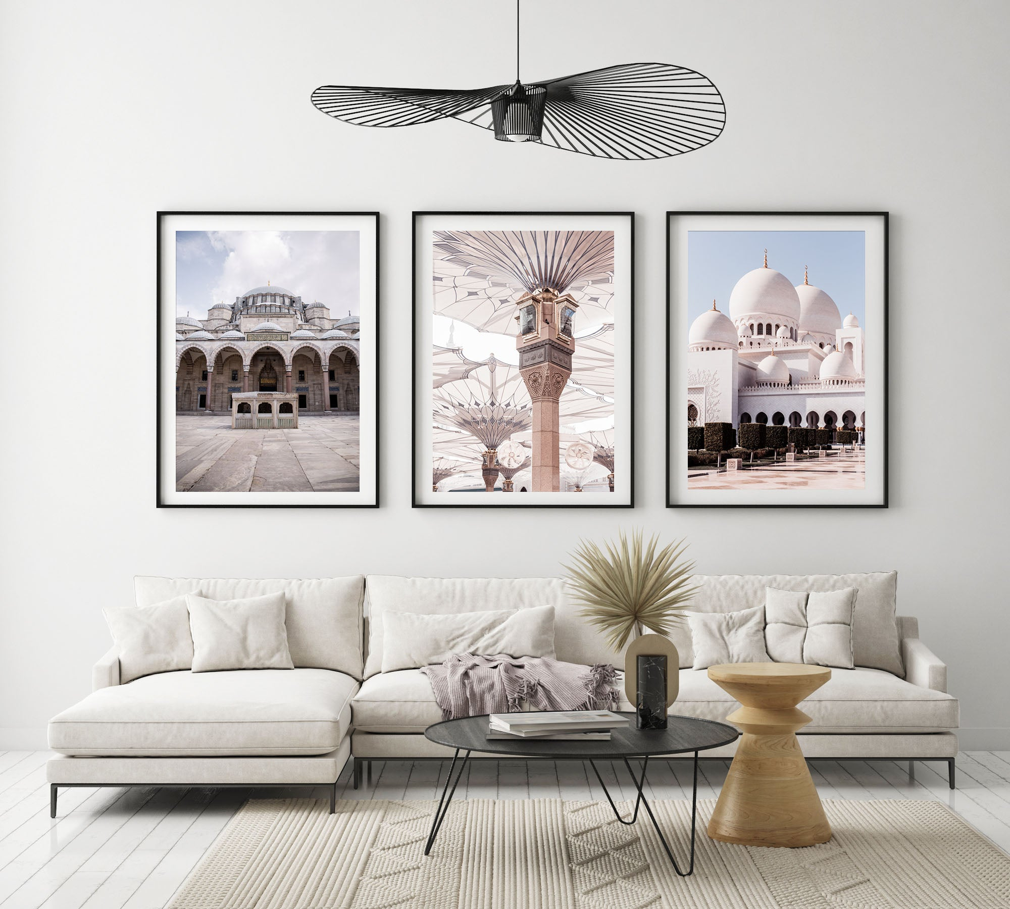 Mosque Set of 3 Prints