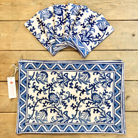 Holbrook placemats & napkins set