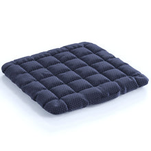 Load image into Gallery viewer, Buckwheat Hulls Seat Cushion - Navy Blue