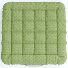 Load image into Gallery viewer, Buckwheat Hulls Seat Cushion - Light Green