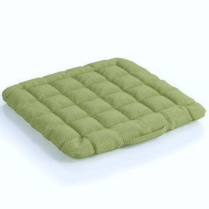 Buckwheat Hulls Seat Cushion - Light Green
