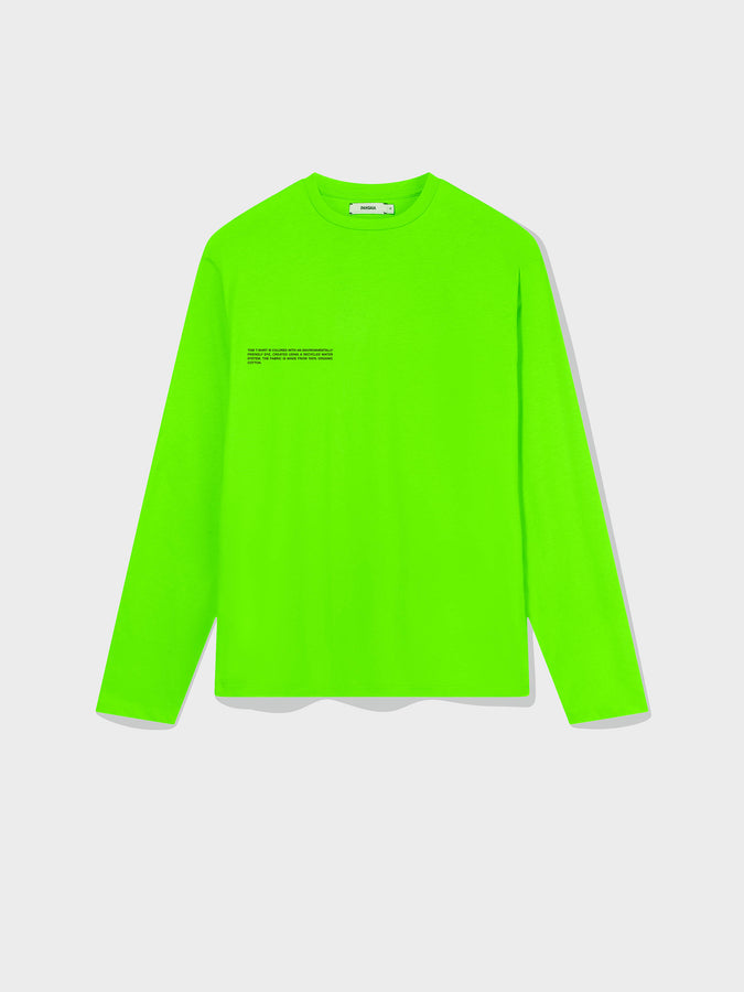 Organic cotton long sleeve t-shirt—seagrass