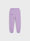 Heavyweight recycled cotton track pants—orchid purple