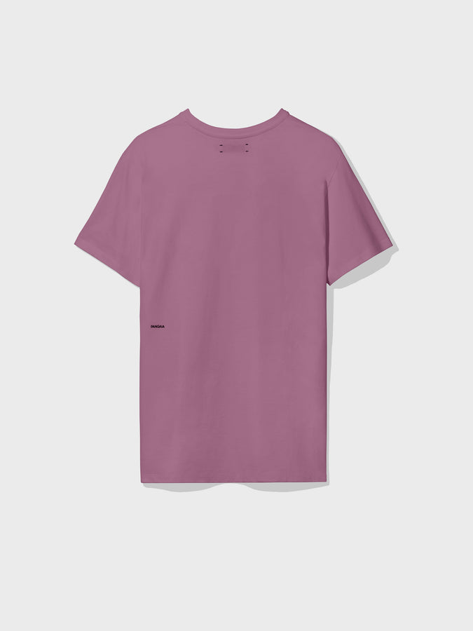 Organic cotton t-shirt—plum purple