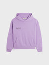 Heavyweight recycled cotton hoodie—orchid purple