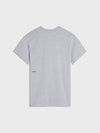 PPRMINT™ seaweed fiber slim fit t-shirt—grey marl