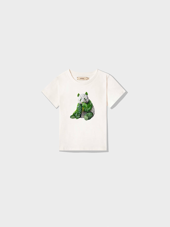 Kids Protect The Species T-Shirt Giant Panda—Off-White