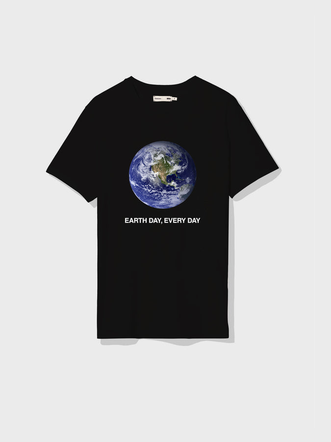 Earth Day Every Day t-shirt—black