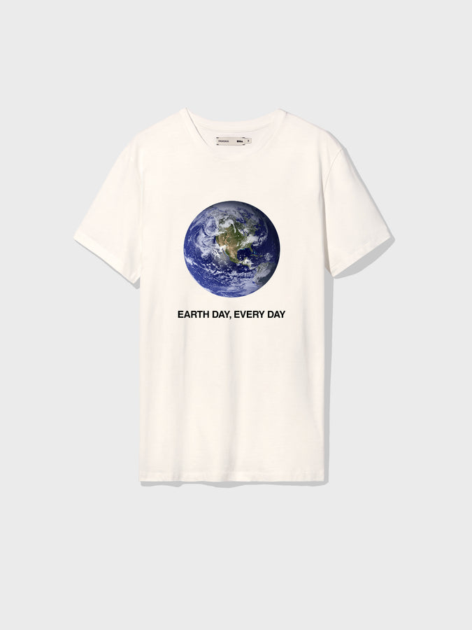 Earth Day Every Day t-shirt—off-white