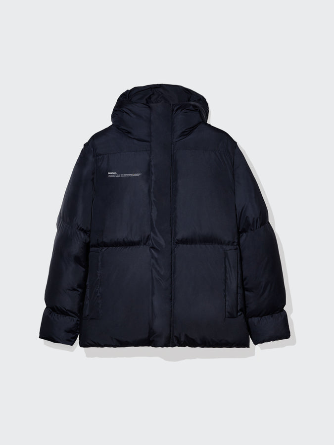 Puffer jacket short—navy