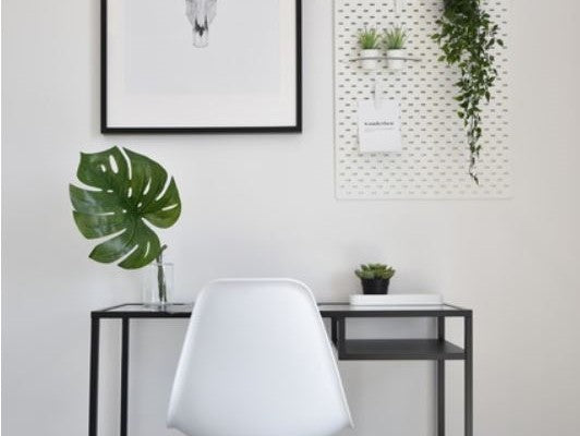 working from home Scandinavian office inspiration