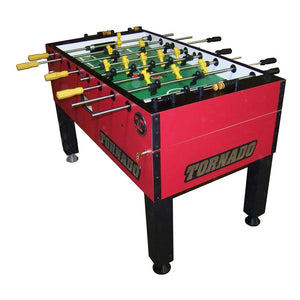 Tornado T-3000 Red Foosball Table (Single Goalie)