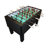Gold Standard Games Home Pro Foosball Table in Charcoal Matrix with Chrome Rods and Wood Handles