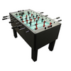 Gold Standard Games Home Pro Foosball Table in Charcoal Matrix with Chrome Rods and Black Handles