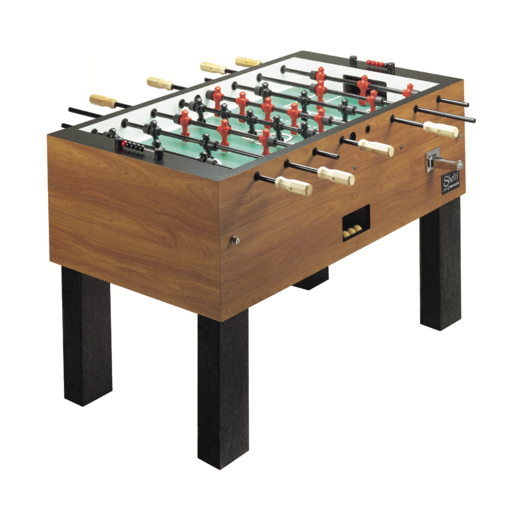 Shelti Pro Foos III Foosball Table (Coin Operated Model)