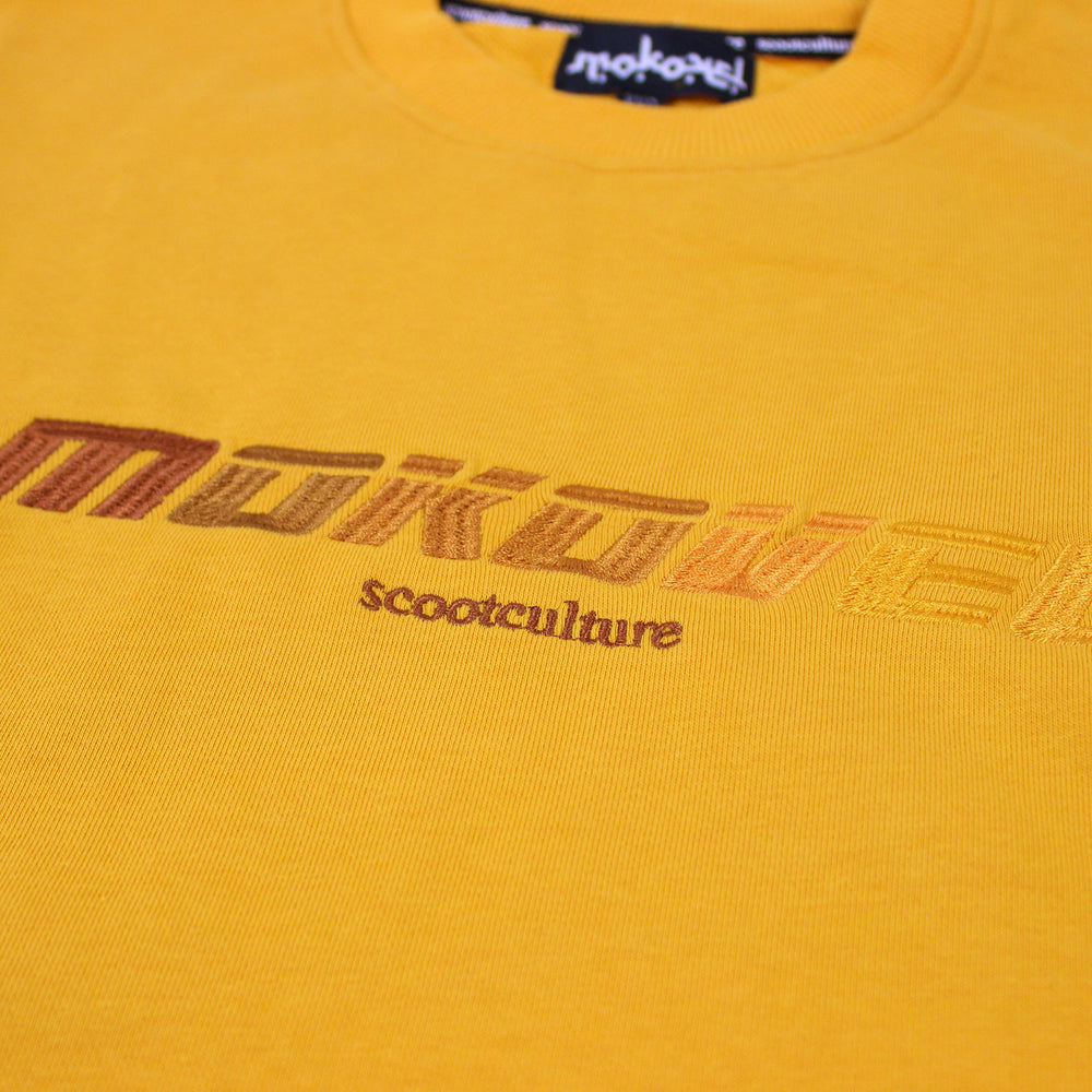 Charger l'image dans la galerie, YELLOW SPEED DEGRADED CREWNECK