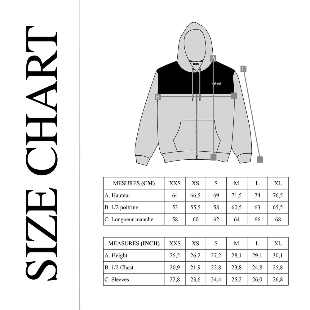 Load image into Gallery viewer, DOUBLE ZIP HOODIE