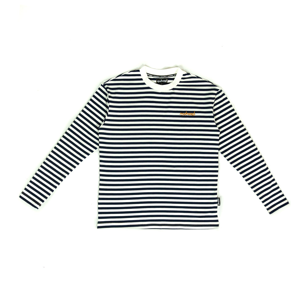 Load image into Gallery viewer, LONG SLEEVE BLUE MARINIERE
