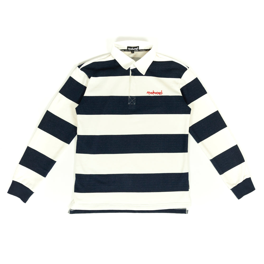 BLUE RUGBY LONG SLEEVE