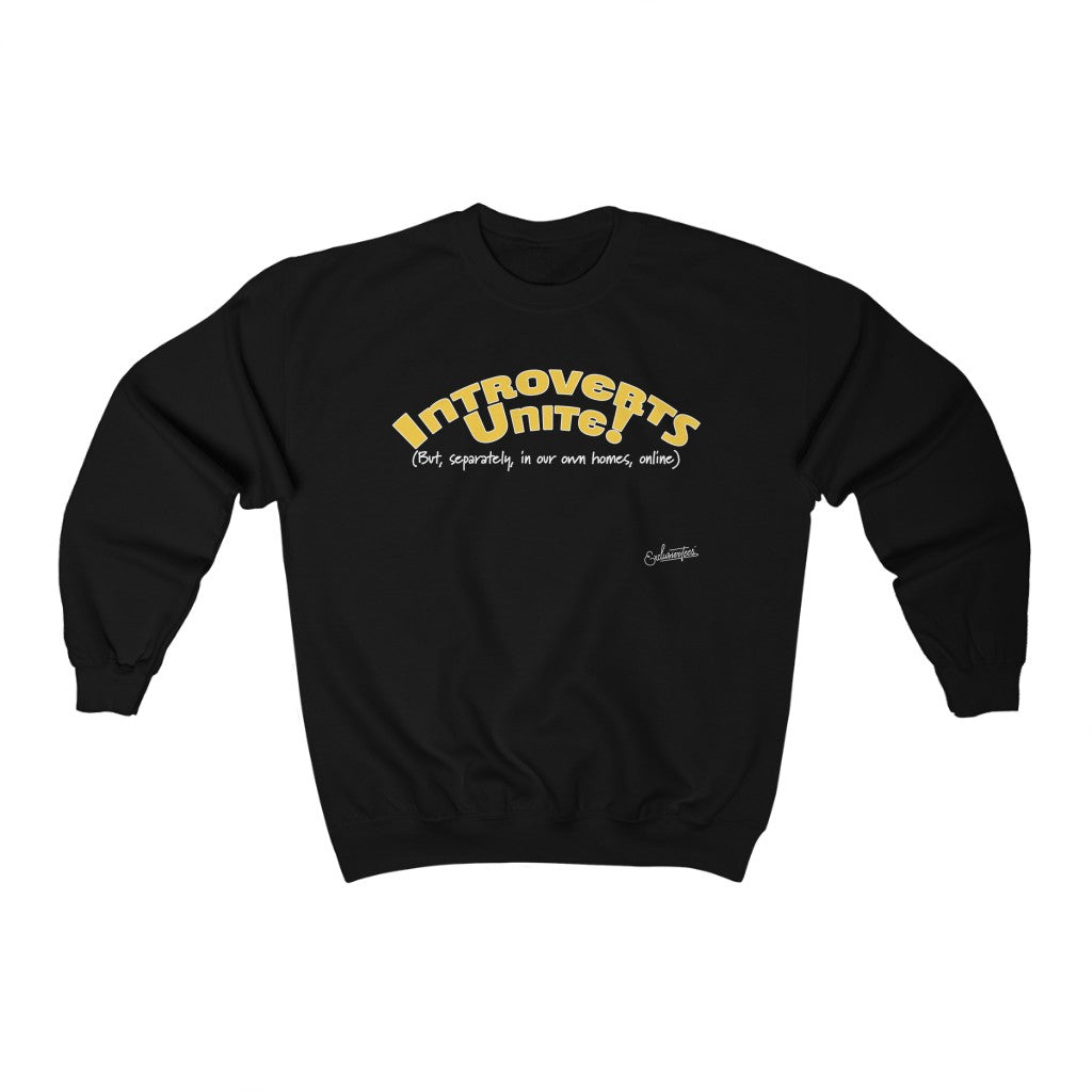 Introverts Crewneck Sweatshirt