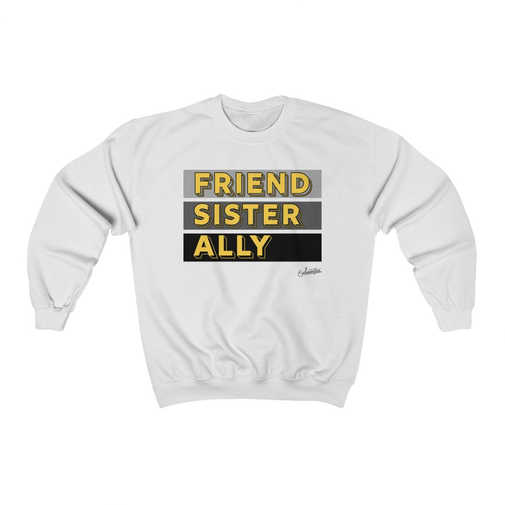 Friend Sister Ally Crewneck Sweatshirt