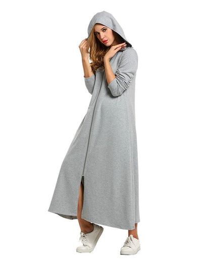Hooded  Dress Sweater