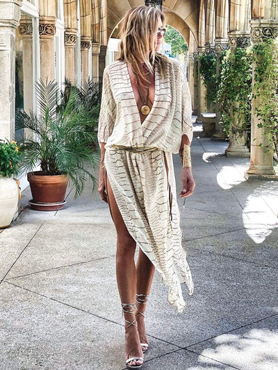 Kimono Beach Tunic - Cover Up