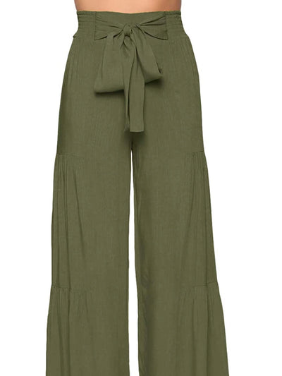 Flare Green Pants