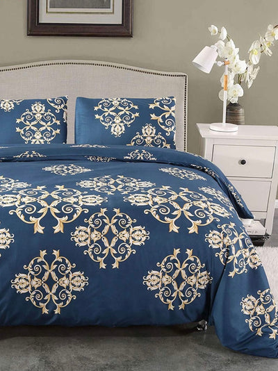 Golden Pattern Duvet