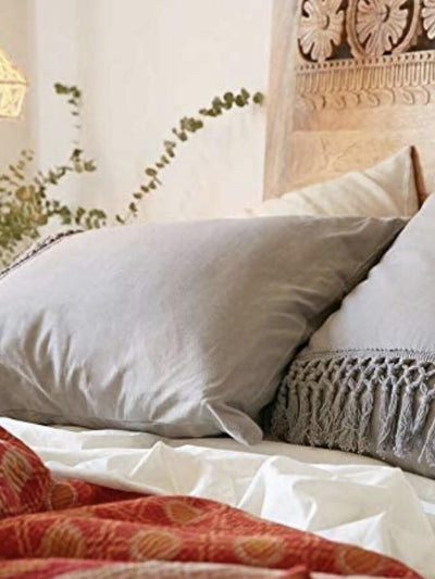 gray boho duvet covers