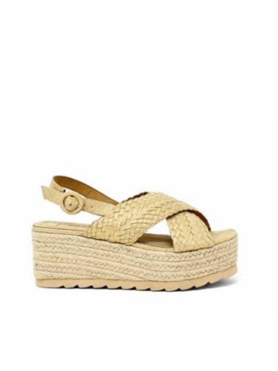 Platform Espadrille Wedge Sandals