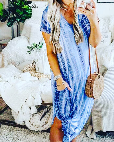 Tie dye Casual Dress