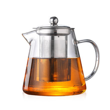 Load image into Gallery viewer, glass teapot