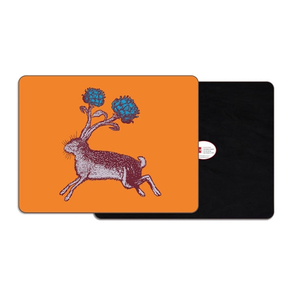 Rabbit/Hare Rectangular Placemat