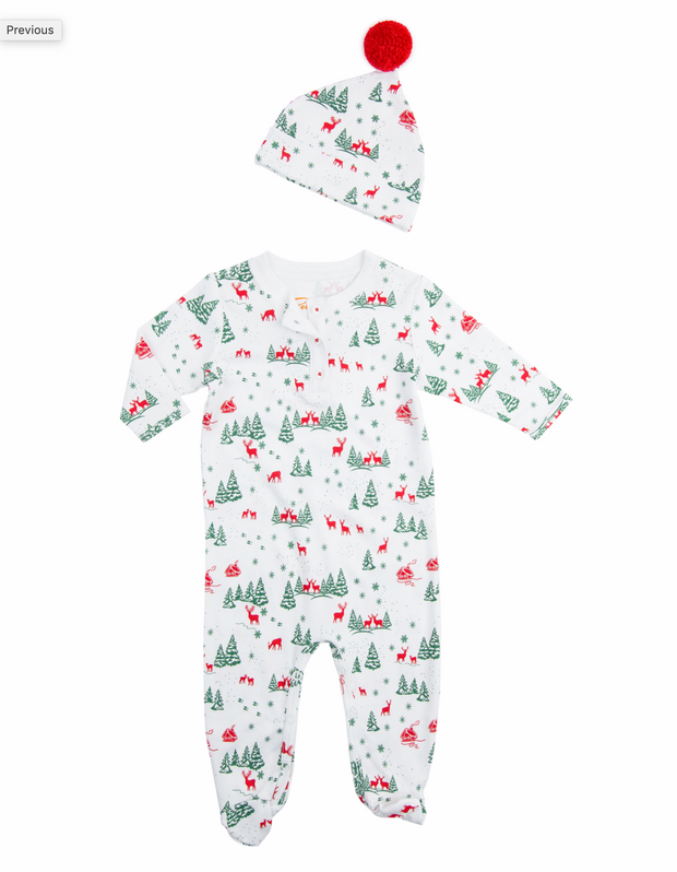 Magical Reindeer Pajamas