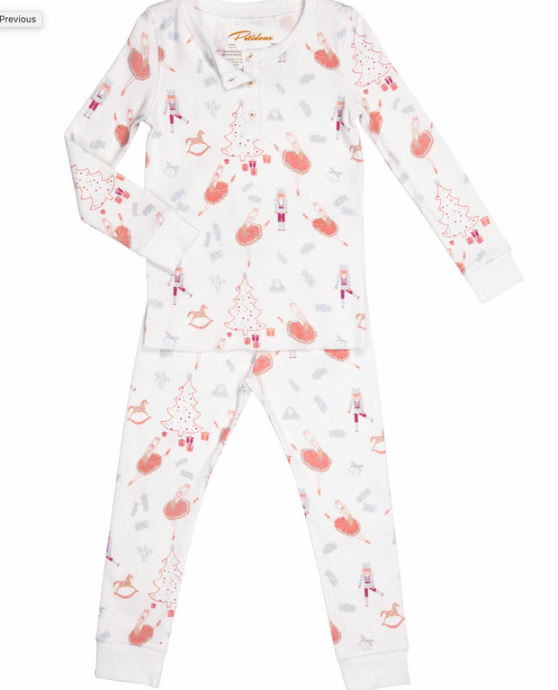 Sugar Plum with Swan Pajamas