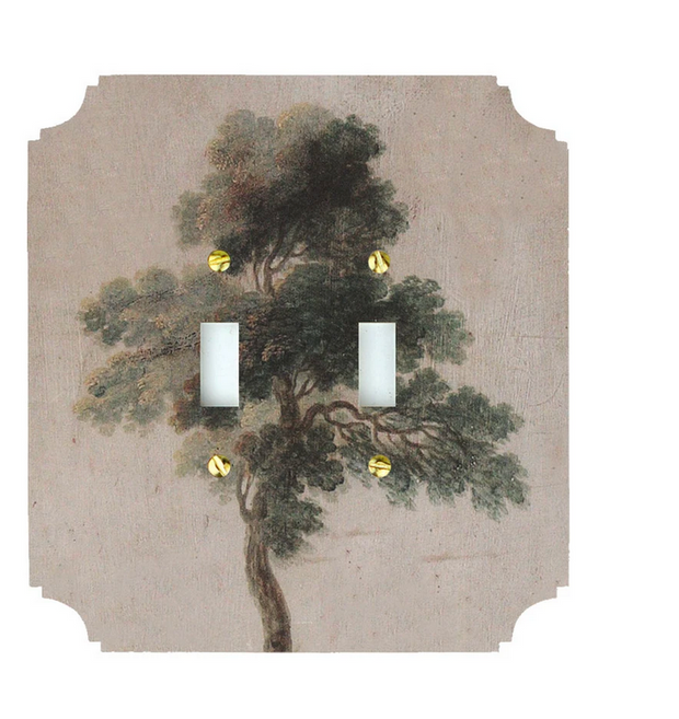 Pine Tree Switch Plate