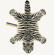 Snowy White Tiger Rug