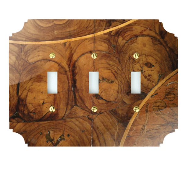 Oyster Wood Switch Plate