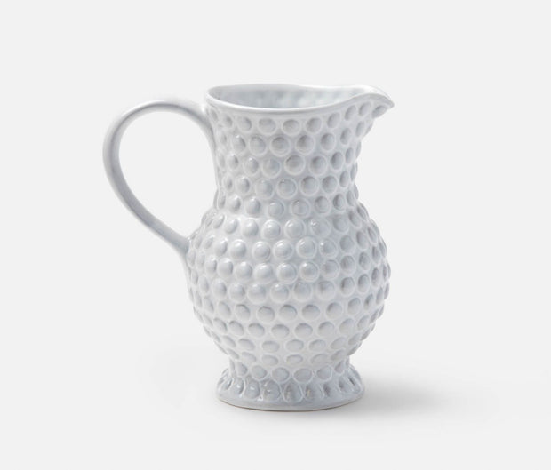 Remi White Bubble Pitcher