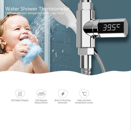 LED Display Water Shower Thermometer - Destiny Bargain