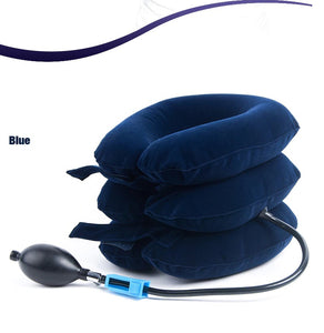 Inflatable Neck Brace Cervical Traction Pump - Destiny Bargain