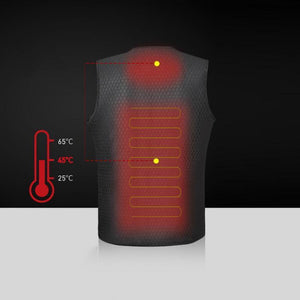Rechargeable Unisex Heat Vest - Destiny Bargain
