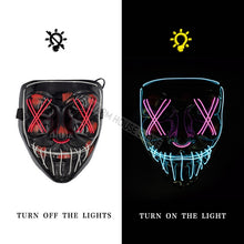Load image into Gallery viewer, Halloween Party & Rave Glow Mask - Destiny Bargain