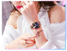 Load image into Gallery viewer, Luxury Starry Sky Wrist Watch - Destiny Bargain