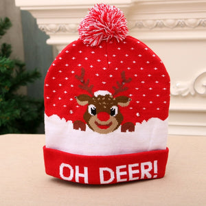 Warm Christmas LED Beanies - Destiny Bargain