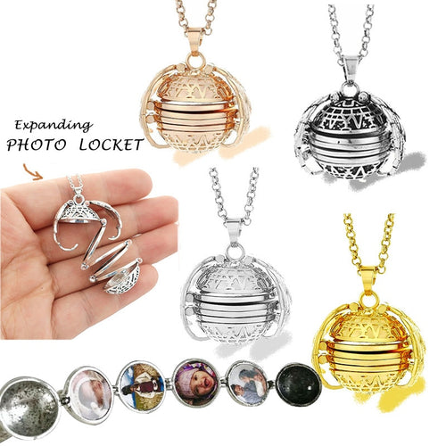 Expanding Photo Locket Necklace - Destiny Bargain