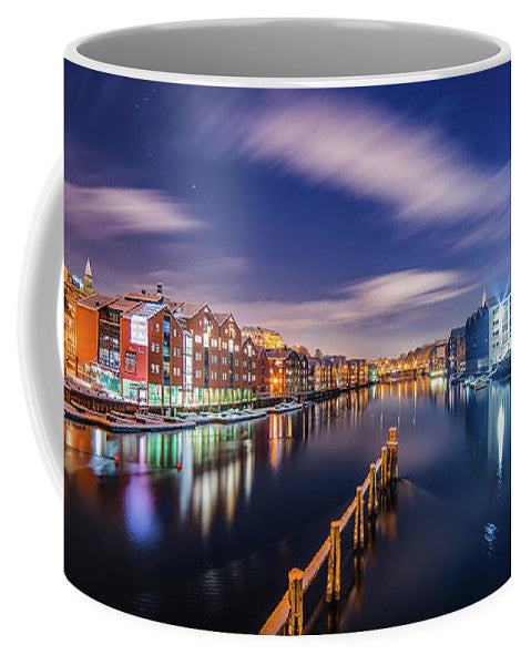 When Orion looks at Trondheim (Coffee Mug)