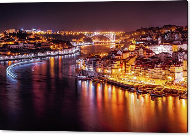 The Beautiful Porto In The Night