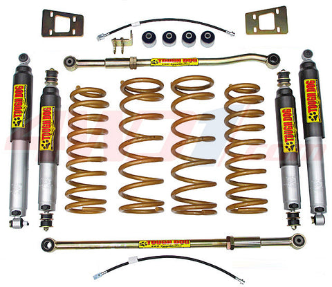 Nissan GU Patrol Tough Dog Suspension 6""